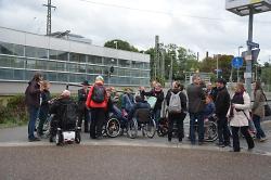 1. Begehung Fußverkehrs-Check 2017 in Aalen