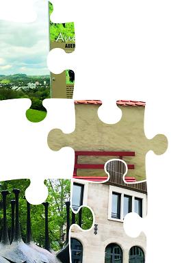 Auf diesem Bild sind einige Puzzleteile zu sehen. Ein Sommer-Suchrätsel ist Teil einer Aktion der Tourist-Information und des ACA im Jahr 2021.