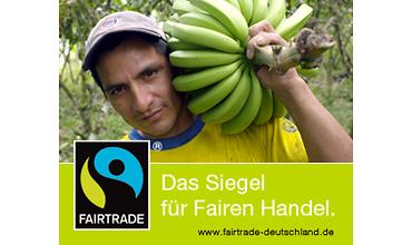 Siegel für fairen Handel - Bananen (TransFair e.V.)