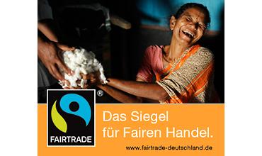 Siegel für fairen Handel - Baumwolle (TransFair e.V.)