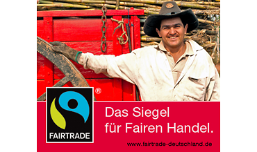 Siegel für fairen Handel - Zucker (TransFair e.V.)