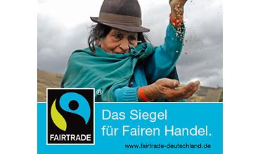 Siegel für fairen Handel - Reis (TransFair e.V.)