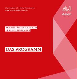 Programm Reichsstädter Tage 2019