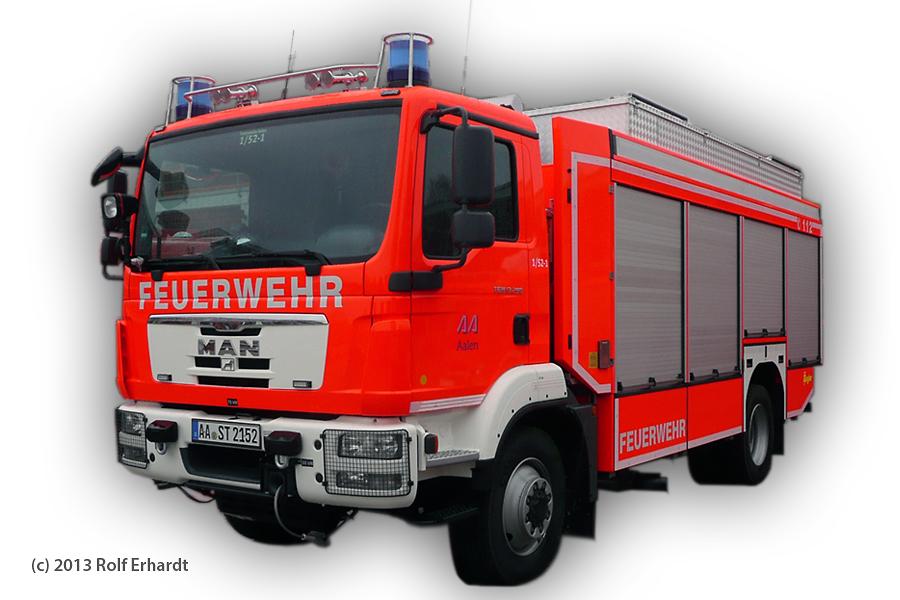 Rüst- und Gerätewagen - Feuerwehr Aalen