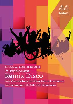 Remix Disco für Menschen mit und ohne Behinderung