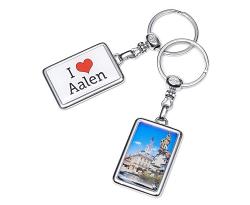 Schlüsselanhänger I love Aalen