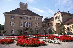 Schloss Fachsenfeld mit Innenhof