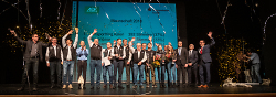 Gemeinsam mit Sportbürgermeister Karl-Heinz Ehrmann nahm Oberbürgermeister Thilo Rentschler die Ehrung von insgesamt 206 erfolgreichen Sportlerinnen und Sportlern vor.