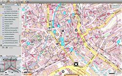 Stadtplan im Geodatenportal der Stadt Aalen - Screenshot