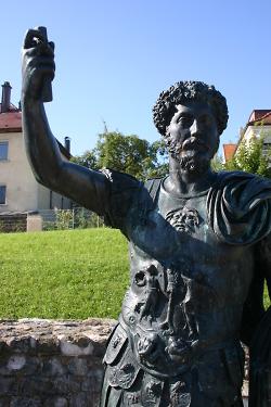Statue des Kaisers Marc Aurel
