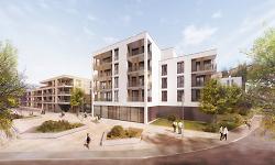 Visualisierung ARGE Wohnungsbau Aalen GmbH und Essinger Wohnbau GmbH
