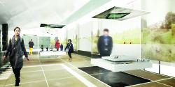 Visualisierung des neuen Limesmuseums vom Atilier Brückner.