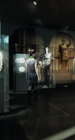 Visualisierung Limesmuseum