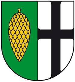 Das Wappen des Stadtbezirks Waldhausen