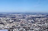 Grußkarte - Winterpanorama