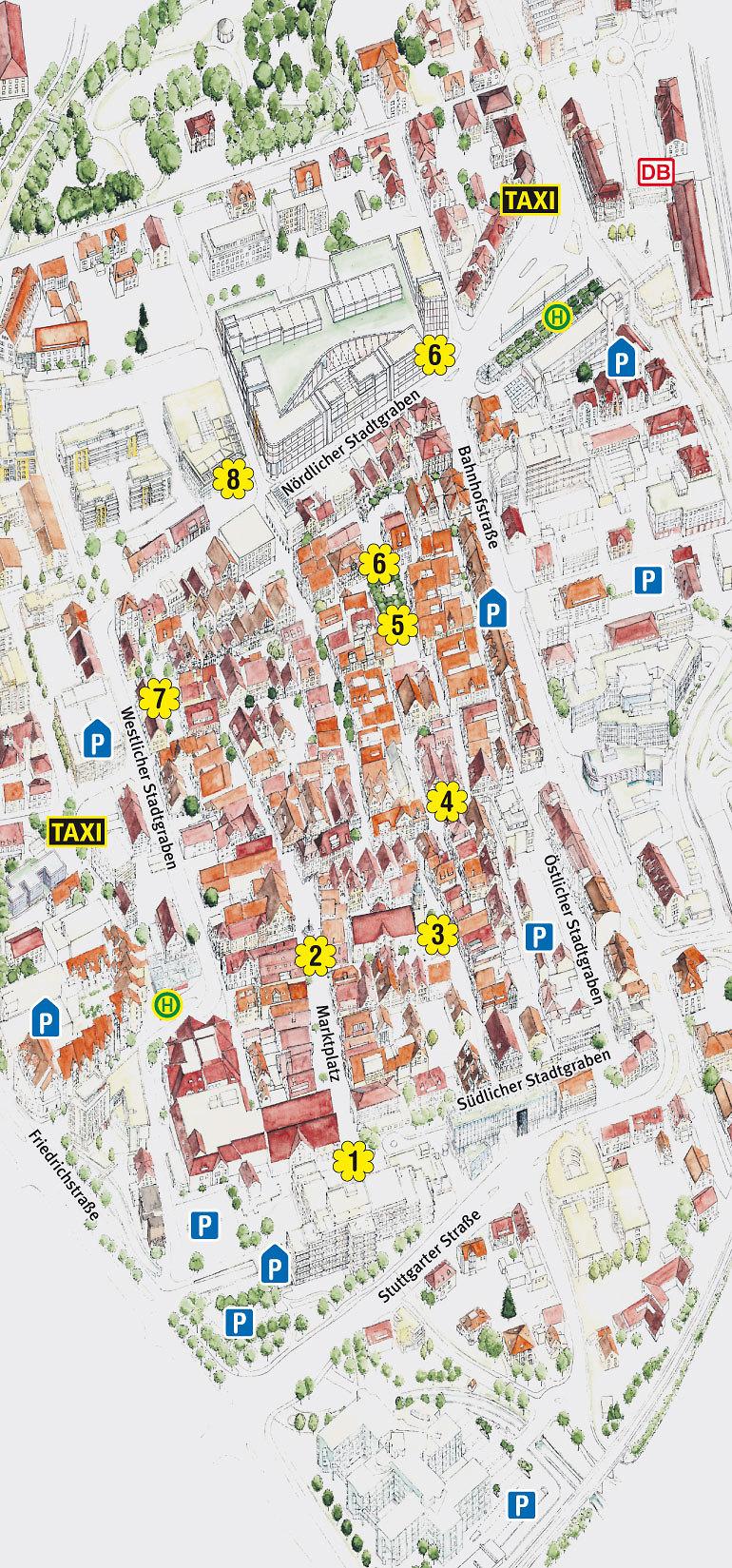 Stadtplan - Kultur & Tourismus