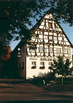 Fachwerkgebäude aus dem Jahr 1580