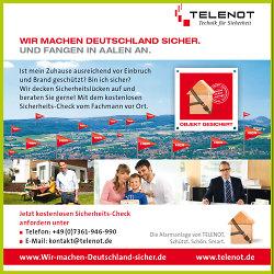 Hauptsponsor Telenot