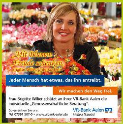 Hauptsponsor VR-Bank Aalen