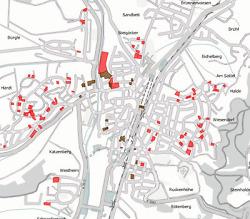 Baulandkataster Wasseralfingen - Darstellung im Geodatenportal