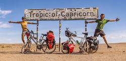 Bilderreise ?Von Aalen nach Südafrika ? mit dem Fahrrad durch zwei Kontinente?