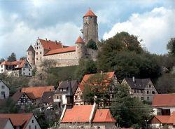 Burg Niederalfingen, Vogteigebäude