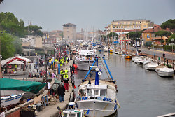 Die malerische Hafenstadt Cervia