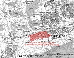 Gewerbegebiet Dauerwang - Karte