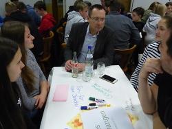 Jugendforum sammelt viele Impulse der Jugendlichen ein