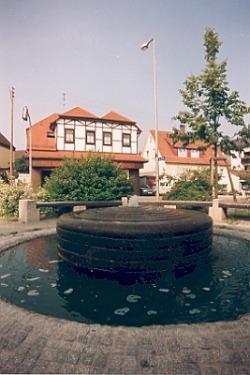 Fountain in the centre Fachsenfeld
