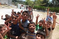 Flüchtlingskinder aus Syrien in Antakya/Hatay