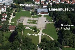 Limesmuseum aus der Luft