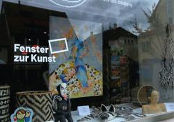 Schaufenster-Ausstellungen in der Innenstadt