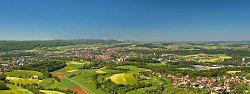 Panorama über Aalen