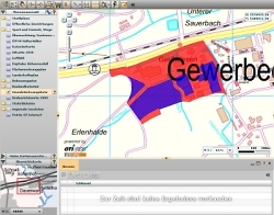 Gewerbeflächen im Geodatenportal