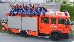 Gruppenbild der Jugendfeuerwehr Wasseralfingen - Hofen 2014