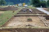 Ausgrabungen römischer Anlagen bei Welzheim