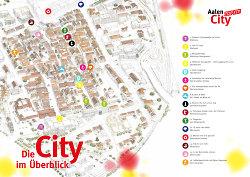 Die Aktionsplätze von Aalen City topfit