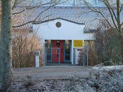 Der Eingang des Kindergarten Milanweg