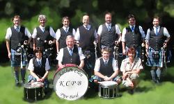 Kochen Clan Pipe Band - Gruppe