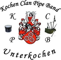 Kochen Clan Pipe Band - Logo