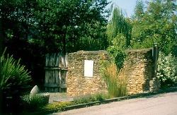 Limes historical site in Hüttlingen