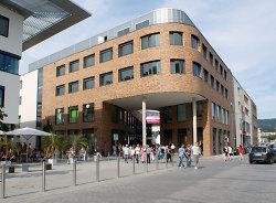 Einkaufscenter Mercatura Eingang Weidenfelder Straße