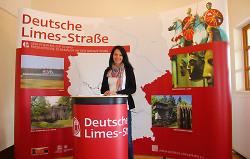 Messestand Verein Deutsche Limes-Straße e.V.