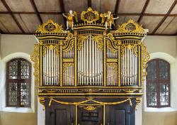 Die Viola im Dialog mit der historischen Barockorgel von St. Johann