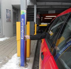 Nutzung der Stadtwerke Kundenkarte für das Parken in Aalen