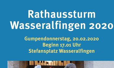 Rathaussturm Wasseralfingen 2020