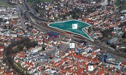 Stadtoval in Toplage