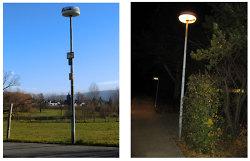 Straßenbeleuchtung Bestandsanlage