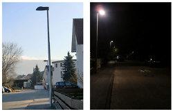 Straßenbeleuchtung Neuanlage